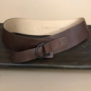 The Territory Ahead Boho Leather Waist Belt XL